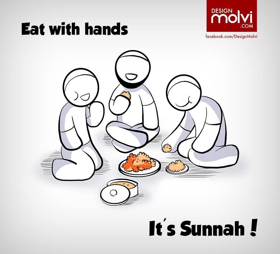 Sunnah Of Eating Food